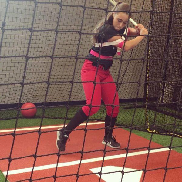 fastpitch softball hitting trainer