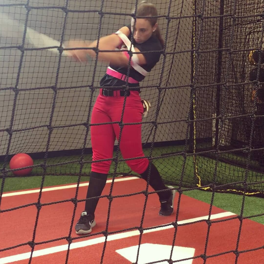 fastpitch softball hitting trainer