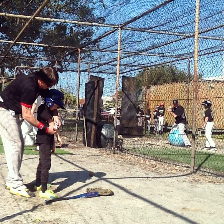 youth baseball training aid