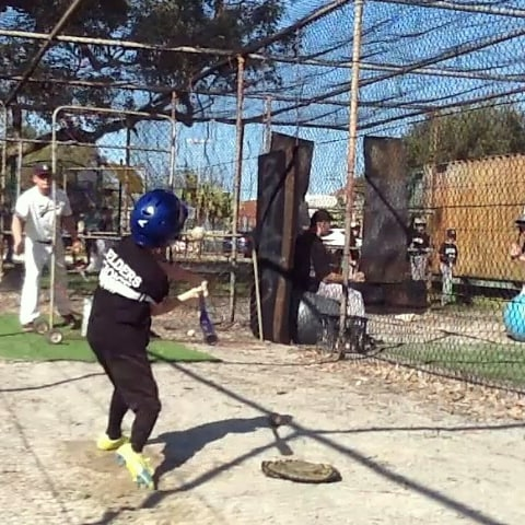 youth baseball training aid