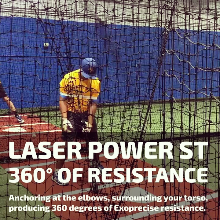 baseball hit lasers training