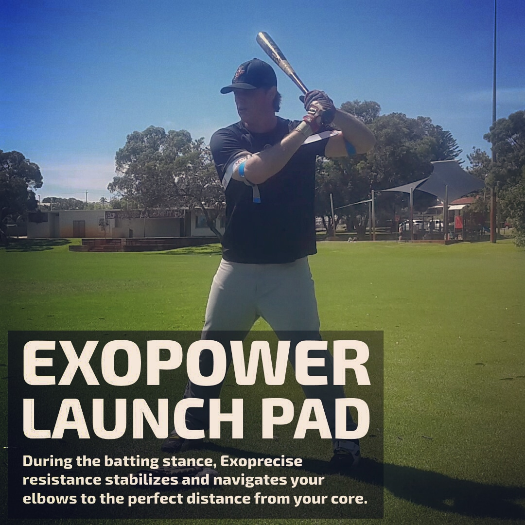 hit lasers laser power st exopower launch pad batting stance